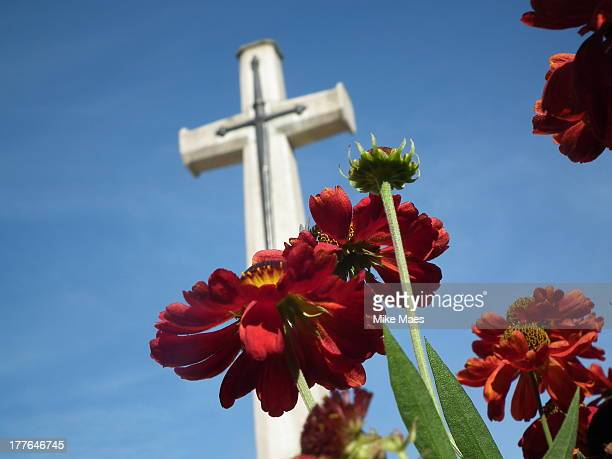 CONTENT] Cross of Sacrifice at Polygon Wood Cemetery