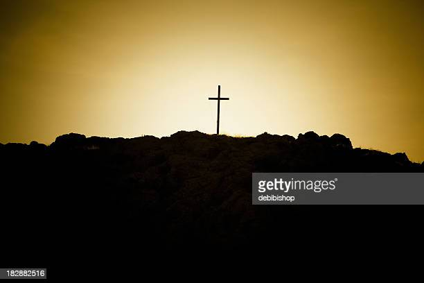 Cross On A Rocky Hill