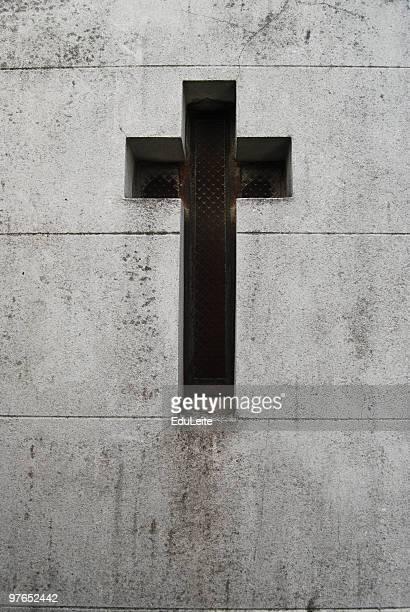Kreuz an der Wand