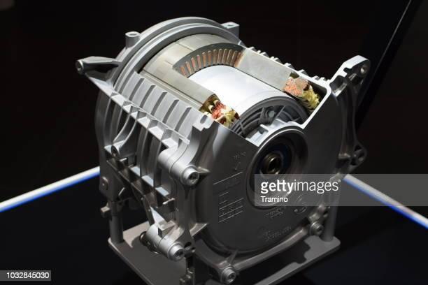 querschnitt der elektromotor - deutsche kultur stock-fotos und bilder