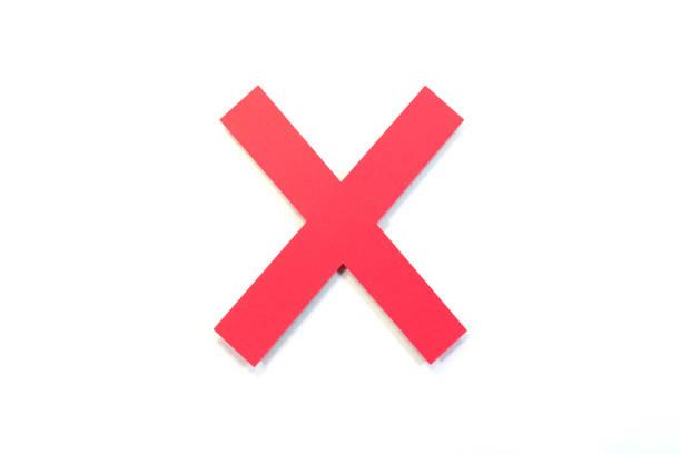 cross sign - バツ ストックフォトと画像