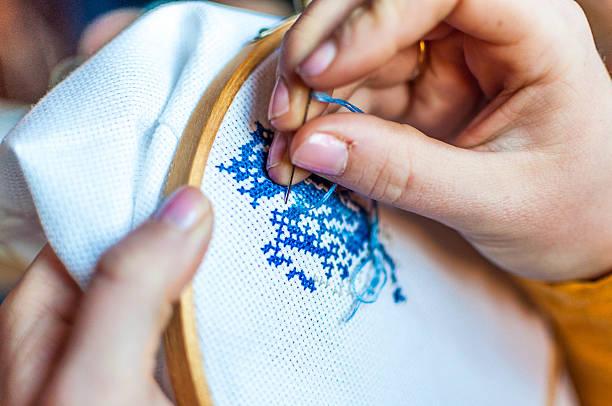 Cross Stitching Wall Art