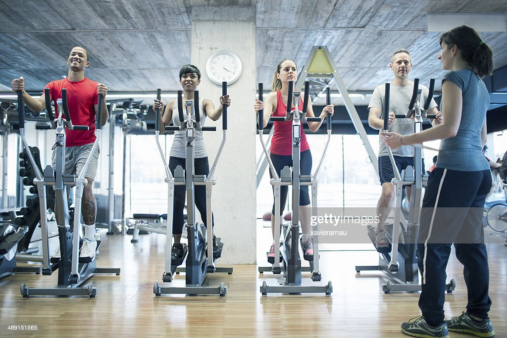 Cross training : Stock Photo