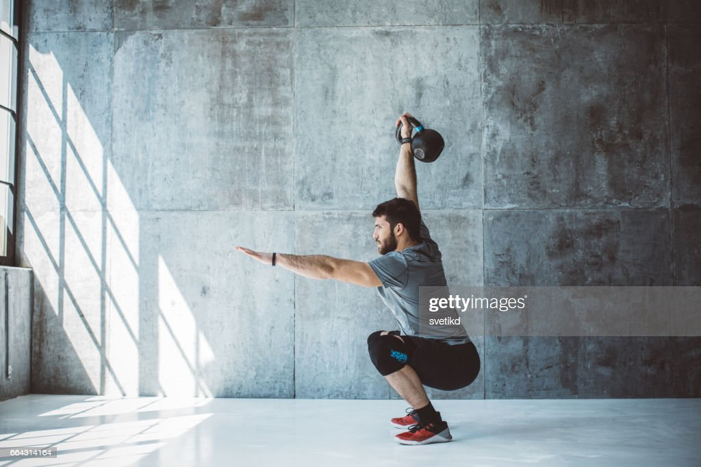 Cross training : Stock Photo