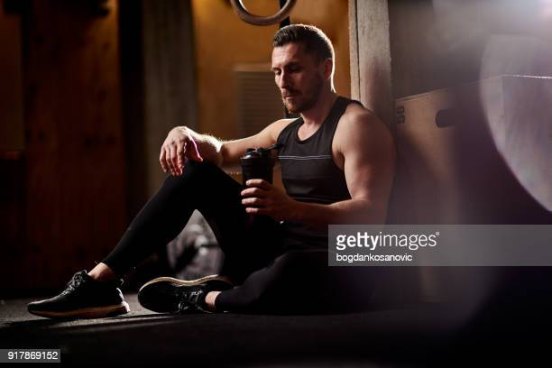 cross training - resting stock pictures, royalty-free photos & images