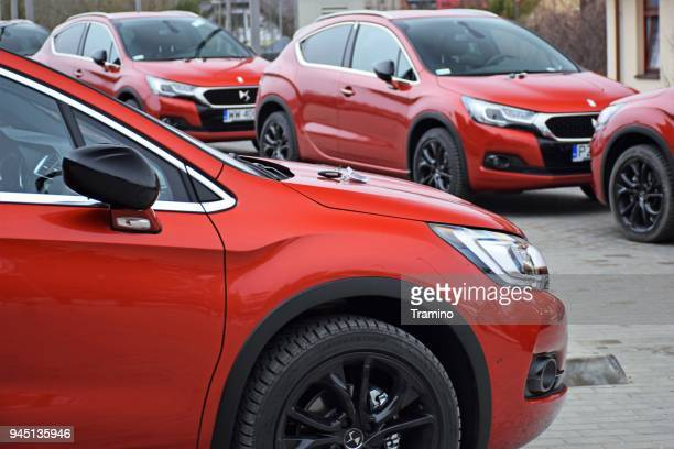 ds4 crossback cars - psa stock photos and pictures