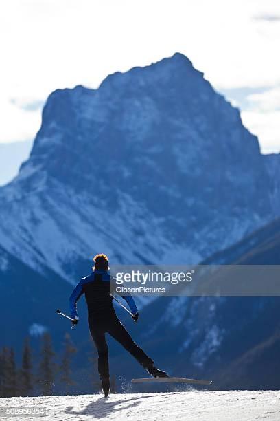 Cross-Country Ski Girl