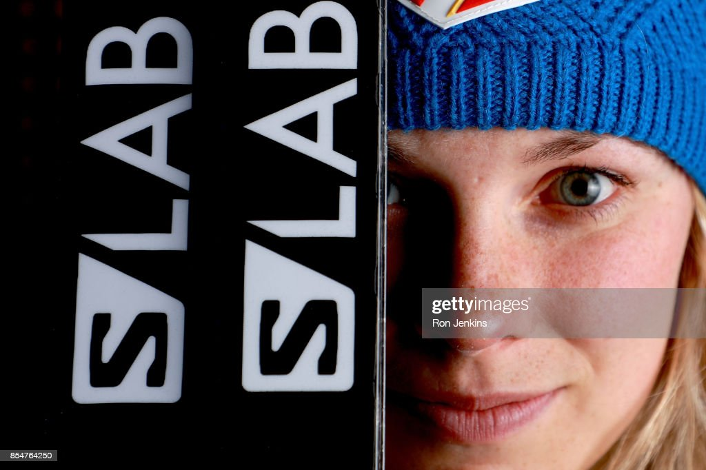 Cross-Country Skier Jessie Diggins poses for a portrait during the Team USA Media Summit ahead of the PyeongChang 2018 Olympic Winter Games on September 27, 2017 in Park City, Utah.