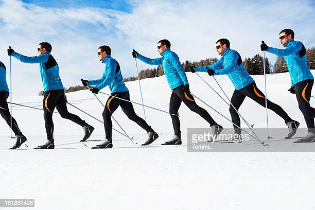 Cross-Country Skiing Sequence