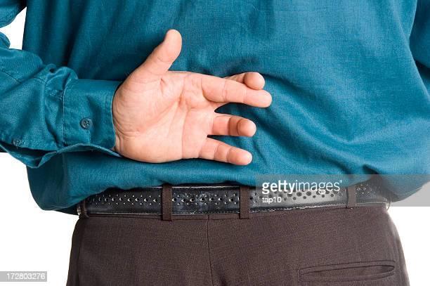 Gekreuzten Finger