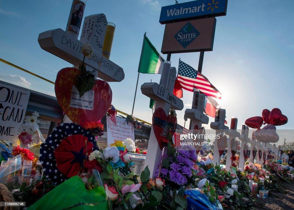 US-CRIME-SHOOTING-TOLL : News Photo