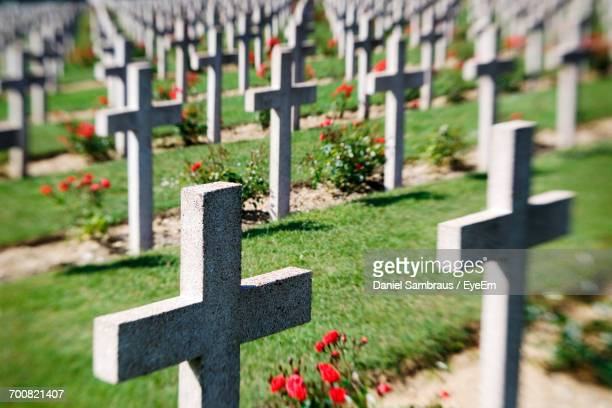 Crosses At Douaumont Ossuary