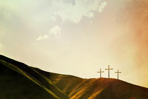 Crosses on Hillside 539294885