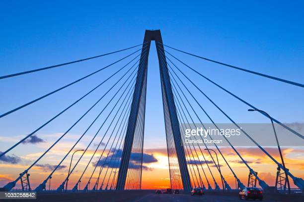 crossing the bridge - template_talk:south_carolina stock pictures, royalty-free photos & images