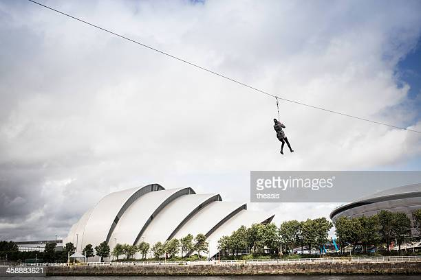 Crossing the Clyde By Zipline