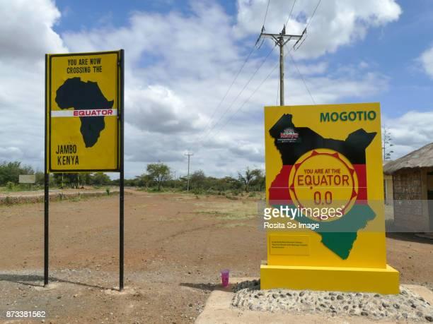 Crossing The Equator in Kenya