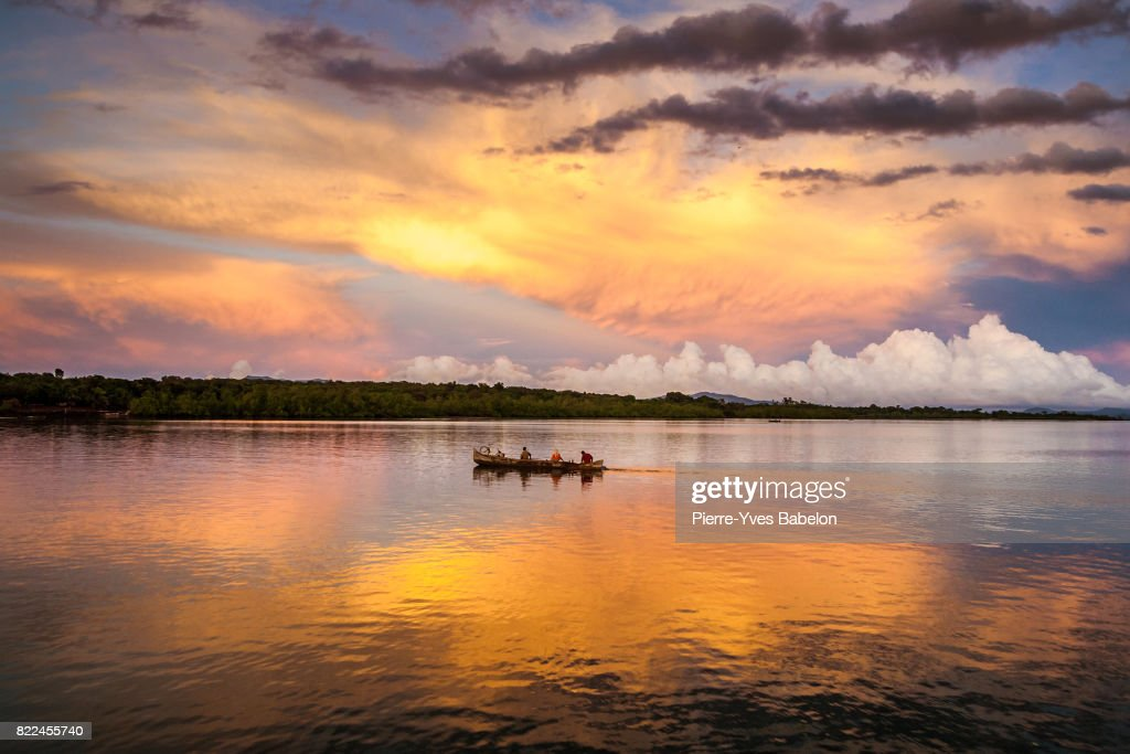 Crossing the inlets : Stock Photo
