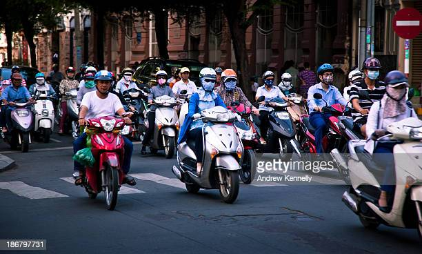 CONTENT] Crossing the street in Vietnam proved to be very challenging There are very few traffic lights and those painted lines on the street don't...