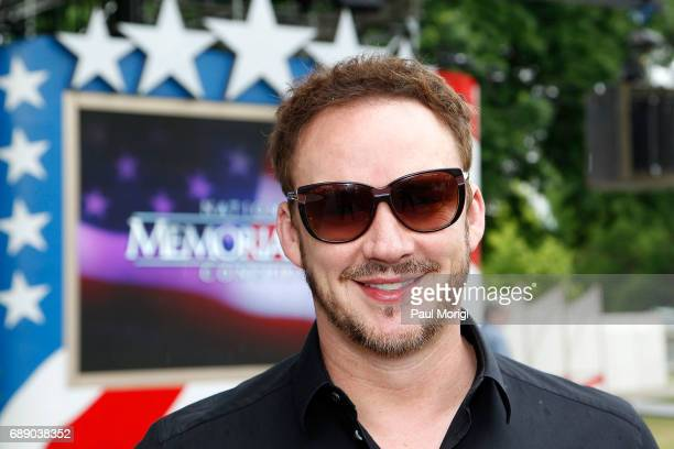 Crossover artist Russell Watson poses for a photo at PBS' 2017 National Memorial Day Concert Rehearsals at US Capitol West Lawn on May 27 2017 in...