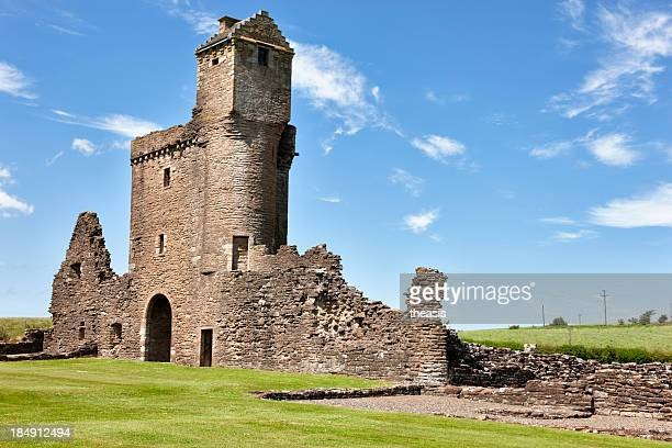 crossraguel abbey - theasis stock pictures, royalty-free photos & images