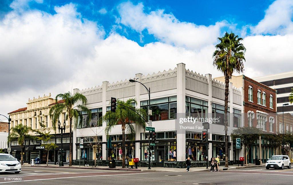 Crossroads in Pasadena, Los Angeles, California : Stock Photo