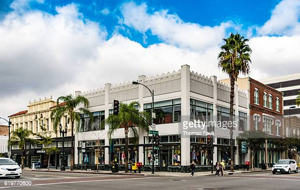crossroads in pasadena, los angeles, california - pasadena california stock pictures, royalty-free photos & images