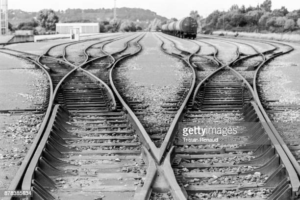 crossroads - fate stock photos and pictures