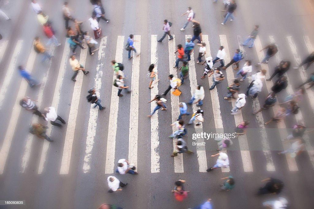 Crosswalk : Stock Photo