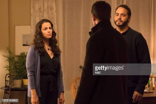 MANIFEST Crosswinds Episode 110 Pictured Athena Karkanis as Grace Stone Daniel Sunjata as Danny