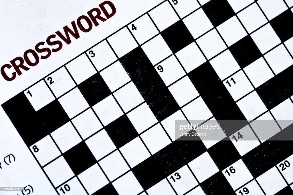 Crossword puzzle : Stock Photo