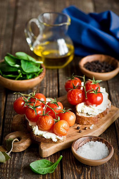 Crostini With Tomatoes Wall Art