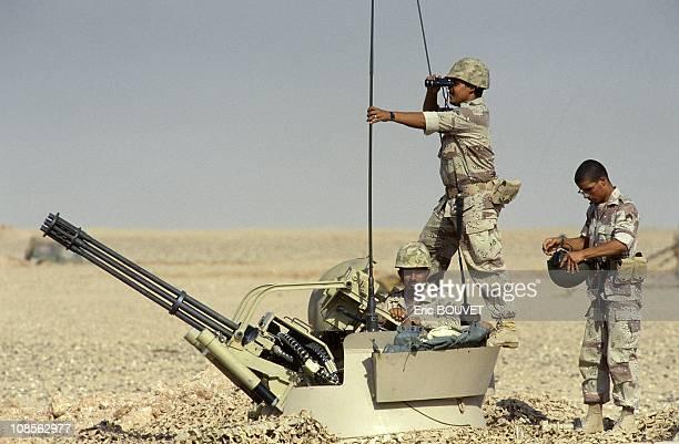 Crotale 105m/m in Saudi Arabia on August 25th 1990