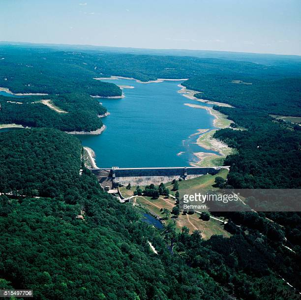 Croton on Hudson New York Views of the old Croton reservoir July 1965 which show its approaches dried up by the severe drought conditions