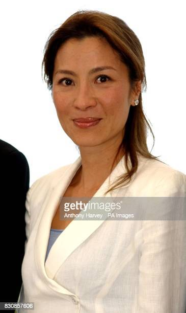 Crouching Tiger Hidden Dragon actress Michelle Yeoh poses during a photocall at the Palais des Festival during the 55th Cannes Film Festival