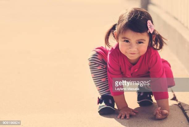Crouching Tiger Toddler