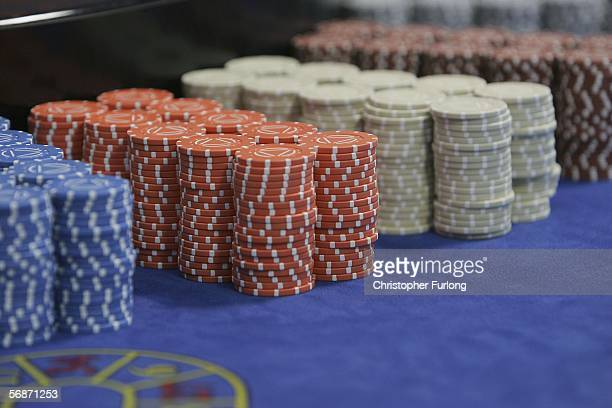 A croupier picks up chips on a Roulette table on February 17 Blackpool England Blackpool and The Fylde College has become the first educational...
