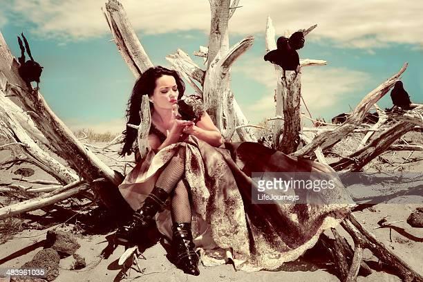Crow femme-Un rêve de coursier