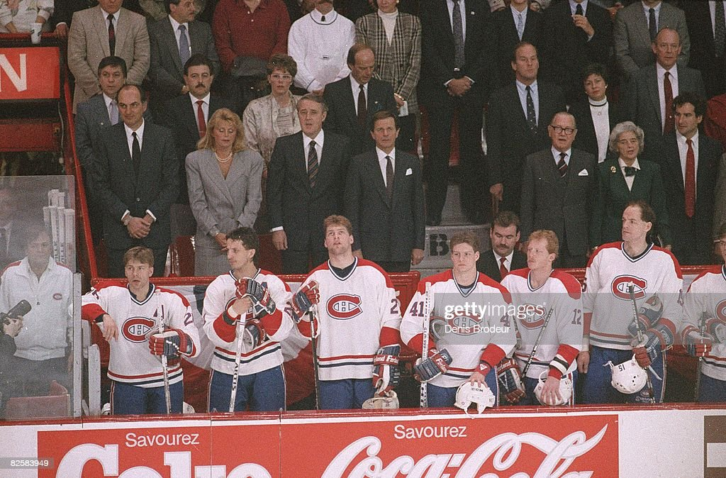 Montreal Forum crowds in the 1980s : News Photo