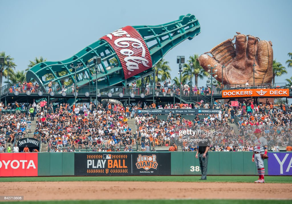 Crowd At Dockers Deck During The San Francisco Giants Versus St