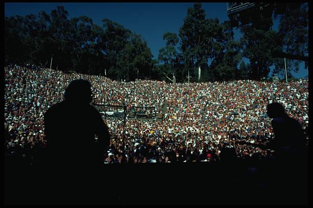 Crowd at Grateful Dead Show