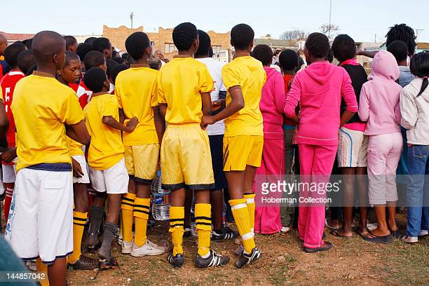 Crowd at Rural Soccer Match