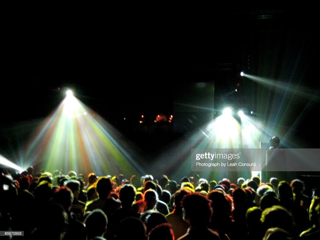 Crowd at the Hordern Pavillion : Stockfoto