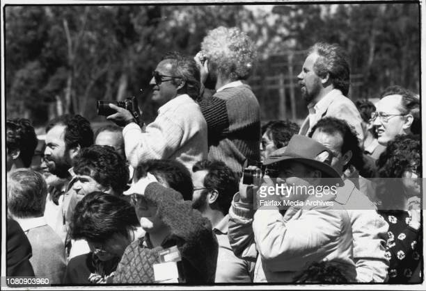 Crowd at the openingBob Hawke reckons the sky is the limit as far as the benefits of the new Australia Telescope are concerned and so do the people...