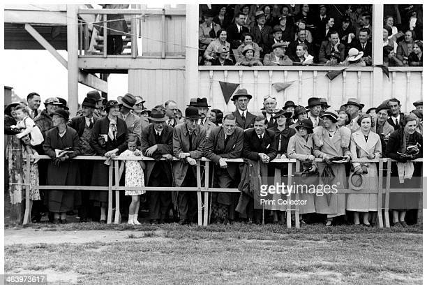 Crowd at the races c19201939
