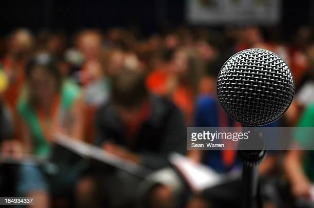 Crowd - Audience & Microphone