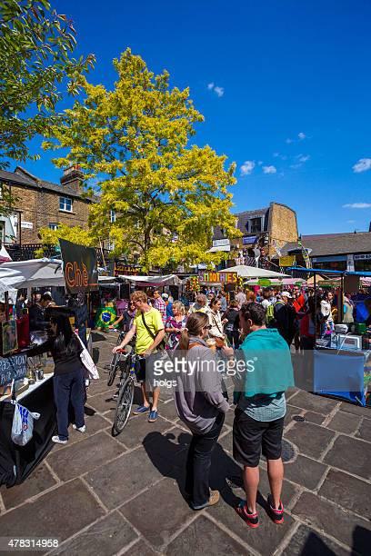 Menschenmenge, Camden market, London