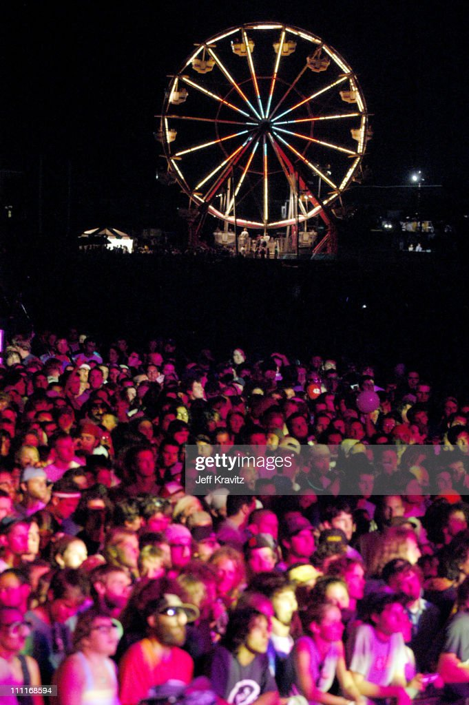 Crowd during Phish IT Festival Day 2 at Loring Airforce Base in Limestone, Maine, United States.