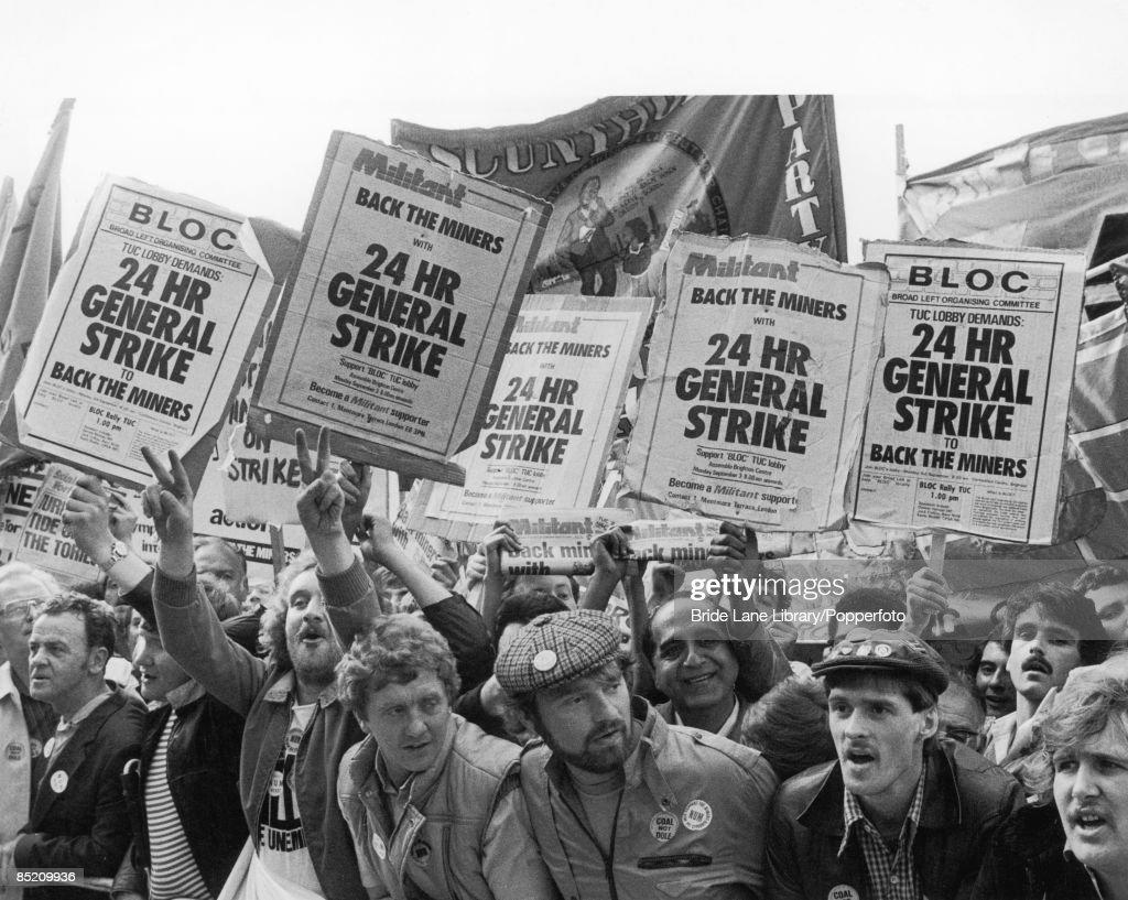 Miners' Strike : News Photo