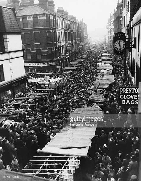 Crowd In A London Street