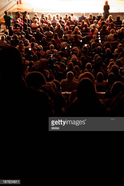 Crowd in a Theater